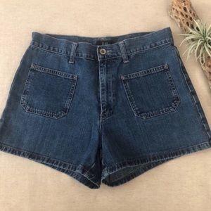 Gap Vintage 90s Cotton Denim Shorts sz 8